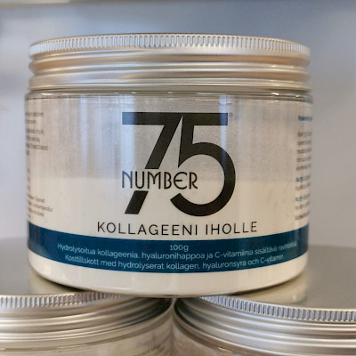 No75 Kollageeni iholle